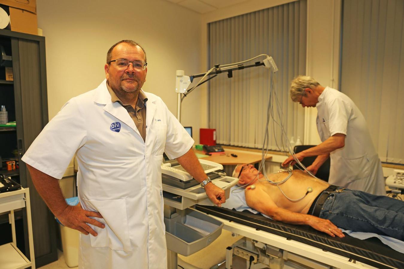 Jan Leeman is in het dagelijkse leven cardioloog bij het OLV-ziekenhuis in Aalst.