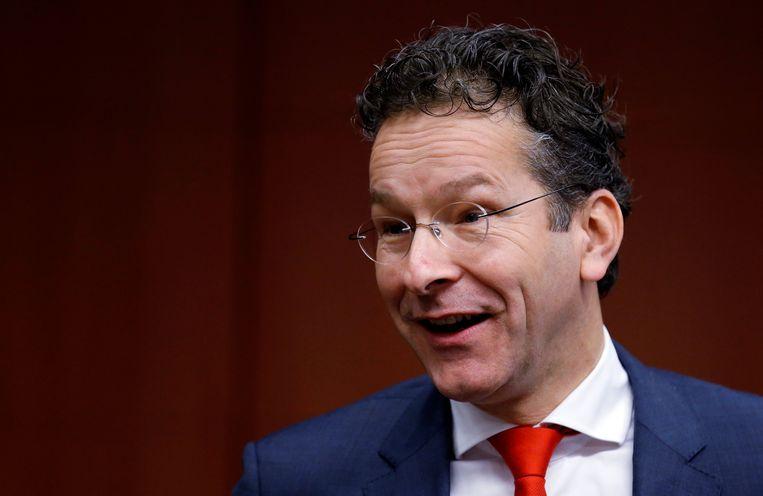 Nederlands financiënminister Jeroen Dijsselbloem. Beeld REUTERS