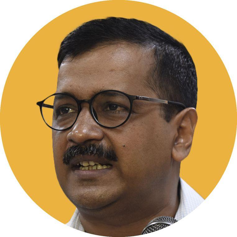 Arvind Kejriwal. Beeld rv