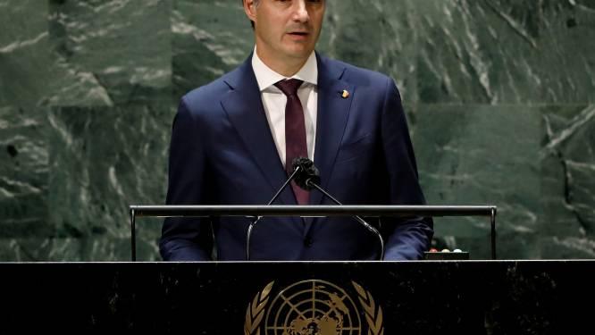 """Devant l'ONU, De Croo appelle à agir sur le climat dès maintenant: """"Une question de vie ou de mort"""""""