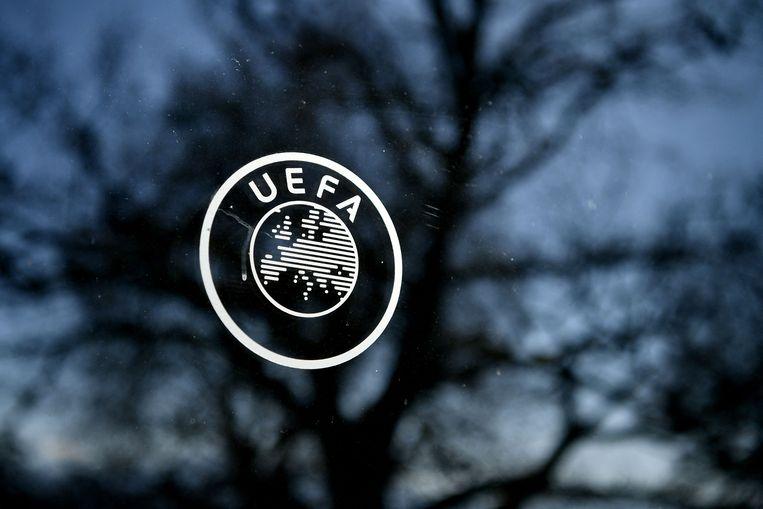 De UEFA ziet de Champions League bij de oprichting van een Super League fors devalueren. Beeld AFP