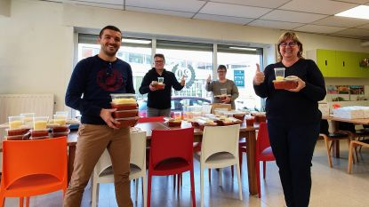 Wetterse Wezels Athletic (WWA) bezorgt 70 Wetteraars spaghetti aan huis