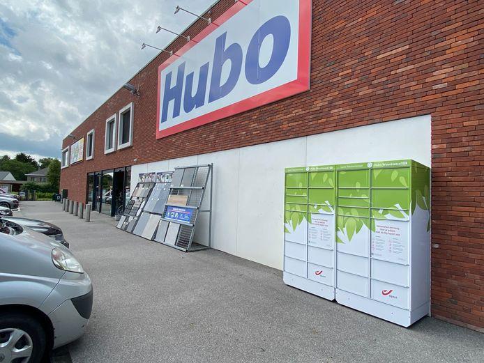 Er staat een nieuwe pakjesautomaat van bpost aan de Hubo in Wuustwezel