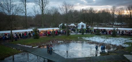 Veel bezoekers kerstmarkt Natuurpark Lelystad