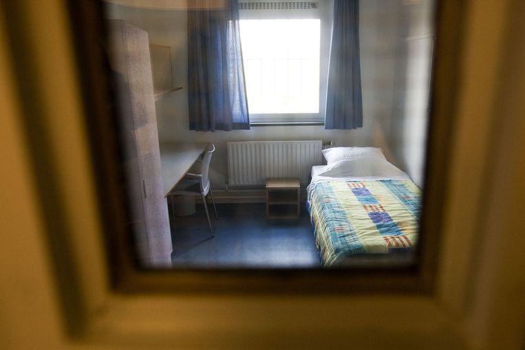 Een kamer in een tbs-kliniek. Beeld anp