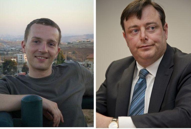 """""""Het is geen probleem als Bart De Wever aan mij geen woorden wil vuilmaken"""", zegt Bas Luyten (foto: Netlog)"""