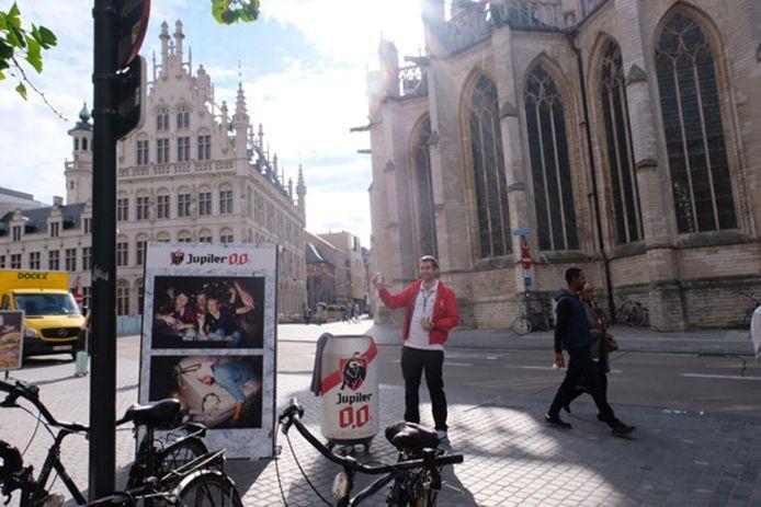 AB InBev zet zeven weken lang in op een niet-alcoholisch aanbod voor studenten in Leuven.