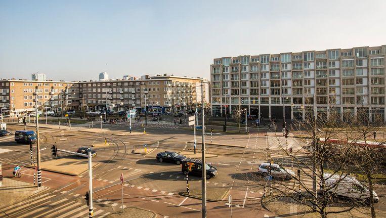 Het Stadionplein in Zuid Beeld Eva Plevier