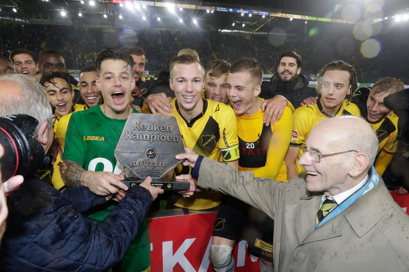 NAC won vorig jaar thuis tegen NEC een periodetitel.