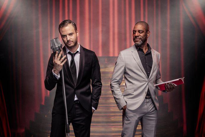 Jim Bakkum en Sergio Vyent (First Dates) komen op 3 november met een show rond Frank Sinatra.