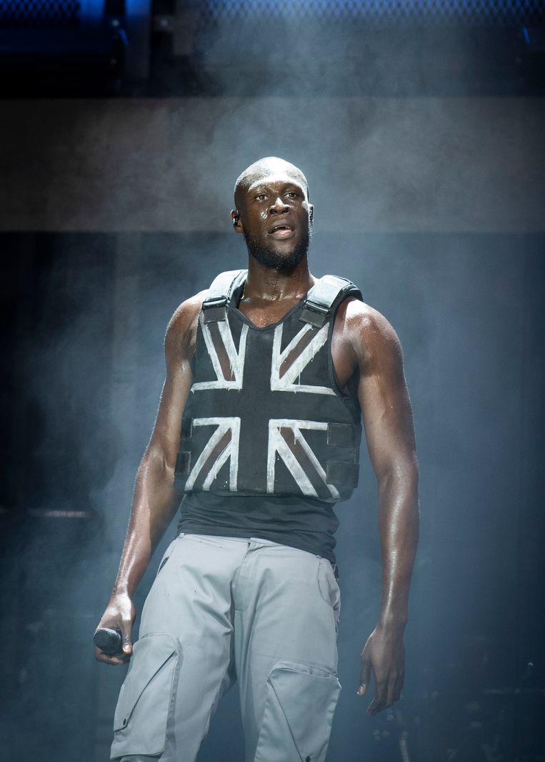 De Londense rapper Stormzy. Beeld Hollandse Hoogte / PA Media
