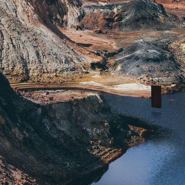 Platenhoes 'Solitude' van Up High Collective. Beeld Lars Bauwens