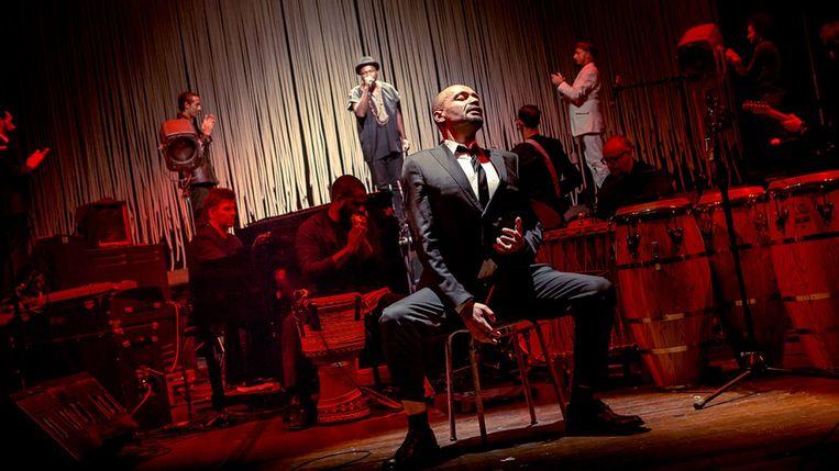 Scène uit 'Malcolm X'. Beeld RV KVS