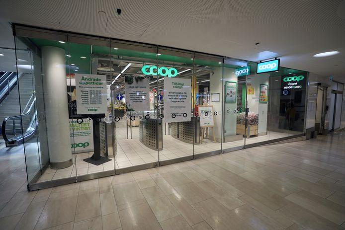 Coop moest in Zweden alle winkels tijdelijk sluiten in verband met een cyberaanval.