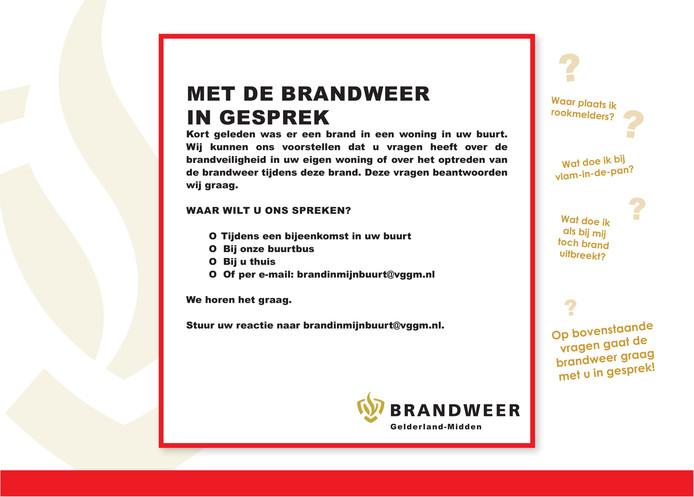 6607b603a13 Voorbeeld van de folder 'Brand in mijn buurt' van Brandweer  Gelderland-Midden.