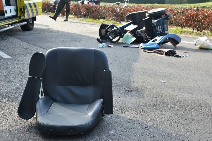 Man in scootmobiel aangereden in Etten-Leur.