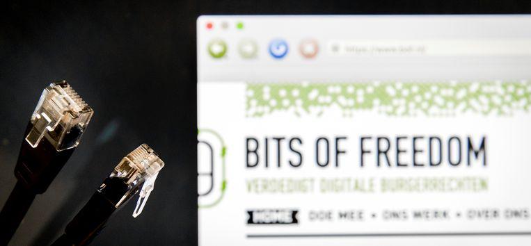 Bits of Freedom (BoF), de Nederlandse stichting die zich inzet voor digitale burgerrechten, lanceerde in 2020 een speciale toolbox met concrete tips voor mensen om hun online leven veiliger te maken.  Beeld ANP