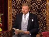 Koning in Troonrede: De vooruitzichten voor volgend jaar zijn positief