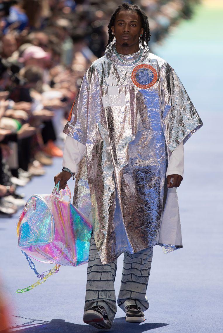 Virgil Abloh voor Louis Vuitton. Beeld EPA