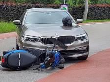 Scooterrijder aangereden door auto in Milsbeek