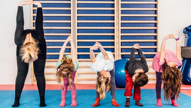 De Tweede Kamer vindt dat kinderen meer beweging op school nodig hebben. Beeld Thinkstock