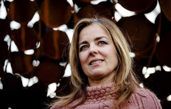 Marianne Thieme, voormalig kopstuk van de Partij voor de Dieren en nu lijstduwer.