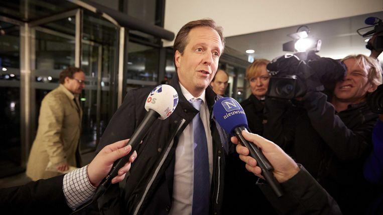 D66-leider Alexander Pechtold. Beeld ANP