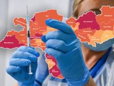 KAART | Veel minder hoogbejaarden met corona; besmettingen lopen in Veenendaal flink op