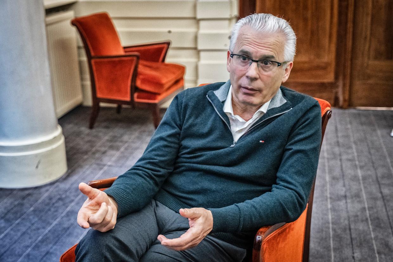 Baltasar Garzón, gewezen Spaanse onderzoeksrechter en nu advocaat gespecialiseerd in mensenrechtendossiers.  Beeld Tim Dirven