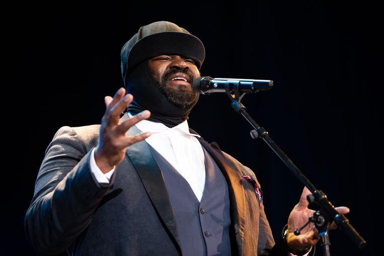 Gregory Porter op het North Sea Jazz Festival in Rotterdam. Beeld Hollandse Hoogte / Harold Versteeg