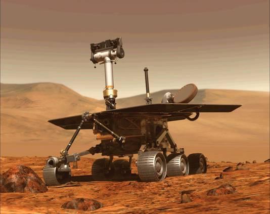 De Opportunity bleek een waar succesnummer voor NASA te zijn en hield het ongekend lang vol op Mars.