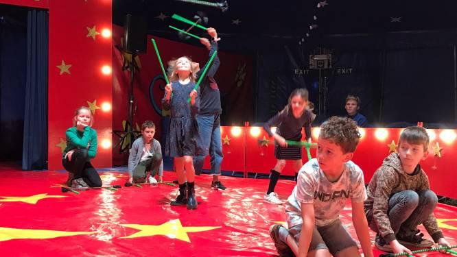 Kinderen Emmaüs worden circusartiesten: komend weekend zes voorstellingen in echte circustent
