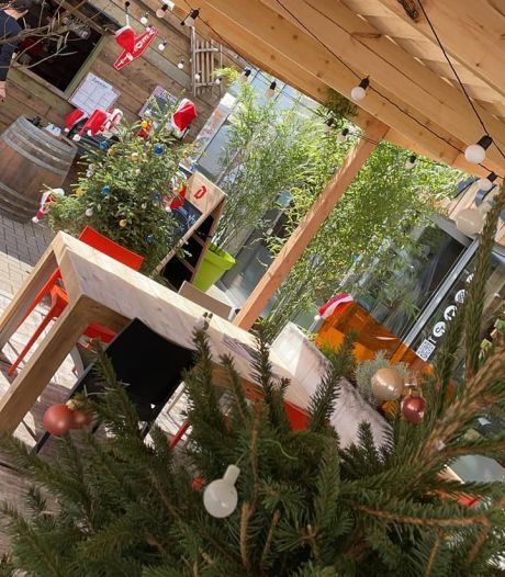 Chez Jannine, à Huy, on fête Noël... en mai!