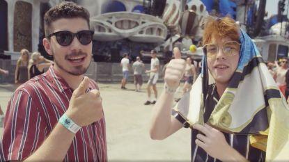 "Volg de Equal Idiots op hun Tomorrowland-ontmaagding! ""Lap, we hebben het al vlaggen"""