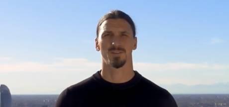 Zlatan in video tegen corona: 'Jij bent Zlatan niet, tart het virus niet'