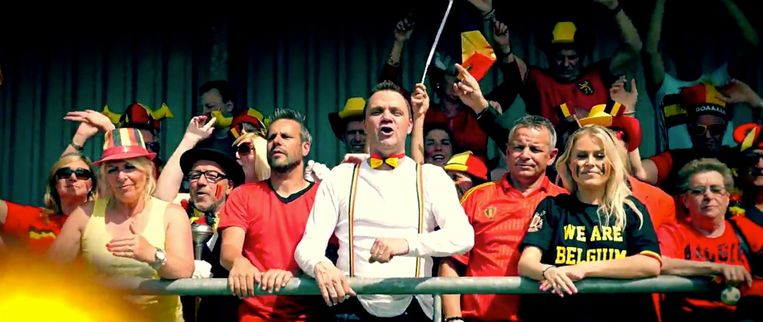 Steve Tielens in 'Het voetballied (Come On Belgium)'