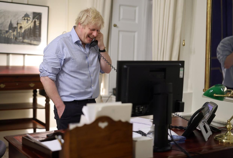 Boris Johnson felicteert, als eerste van de Europese leiders, Joe Biden met diens benoeming tot president van de Verenigde Staten.