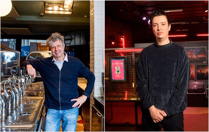 Filip Jans, uitbater van Monk, en Steven Van Belle, artistiek leider van Fuse.