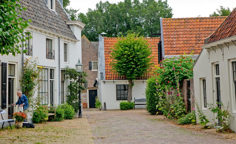 In Oud Velsen waan je je zomaar een paar eeuwen terug in de tijd.