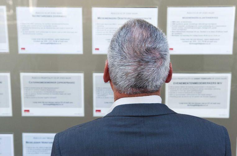 Mensen van niet-Europese afkomst en 55-plussers zijn opvallend minder vaak aan het werk, stelt men ook in het Brussels Gewest vast.  Beeld ANP XTRA