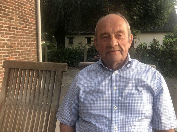 Ward Janssens werkte na zijn koerscarrière tot zijn pensioen in het bedrijf van Eddy Merckx.