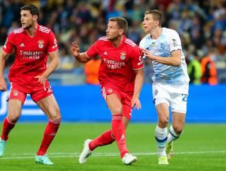 Vertonghen ontsnapt met Benfica aan nederlaag tegen Kiev, Wolfsburg-Belgen spelen gelijk in Lille