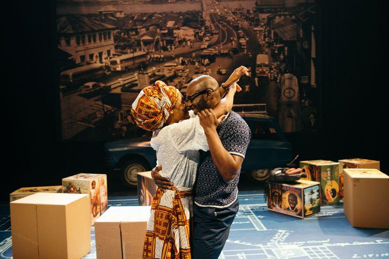 'Beneatha's Place' herinnert aan vormingstheater. Beeld Dustin Thierry