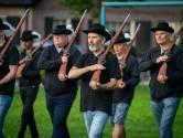 Het Gendtse leger in paraatheid voor behoud van de lokale feesten