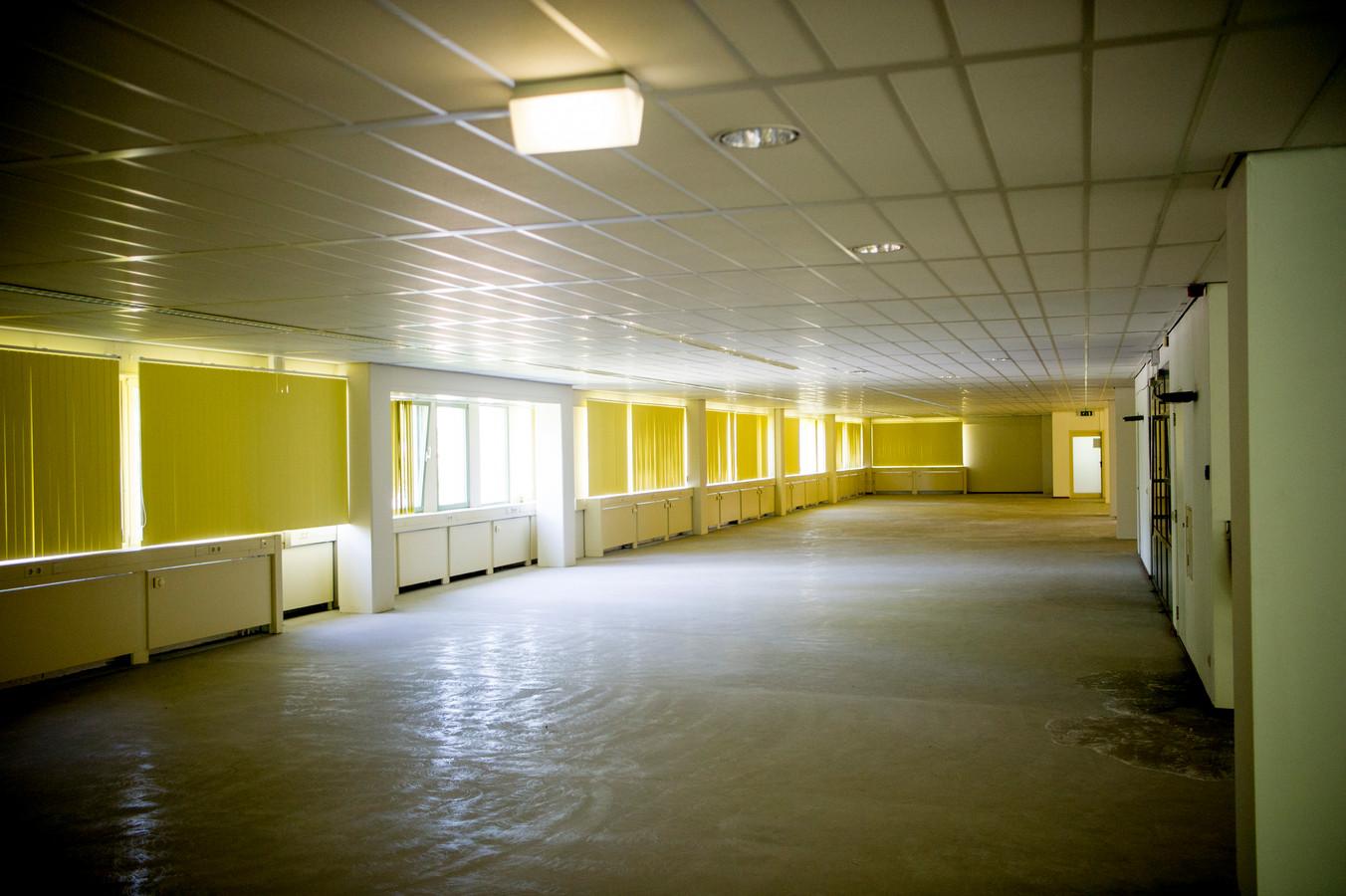 Een leegstaand kantoorgebouw. Foto ter illustratie.