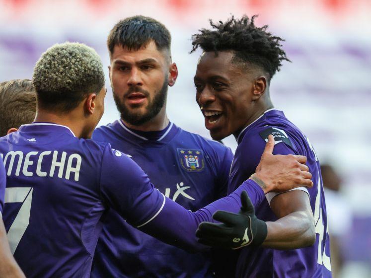 Bruges renversé, playoffs 1 quasiment assurés: Anderlecht tient son match référence