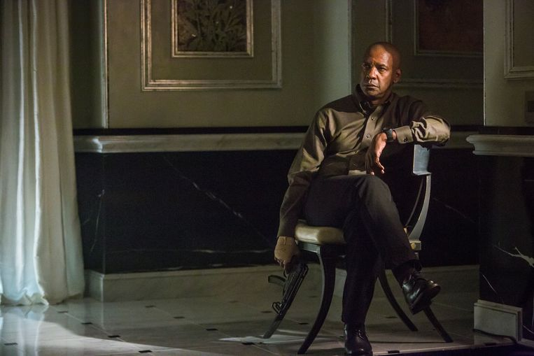Denzel Washington in The Equalizer van Antoine Fuqua. Beeld