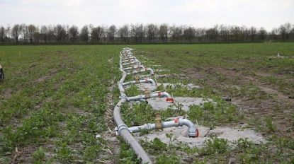 Opgepompt grondwater moet opnieuw in de grond worden gebracht