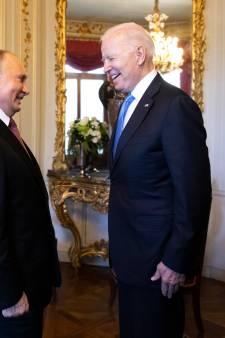 Poetin en Biden zijn vriendelijk voor elkaar: 'We spreken dezelfde taal'