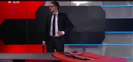 Un homme armé perturbe un JT néerlandais